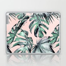 Island Love Coral Pink + Green Laptop & iPad Skin