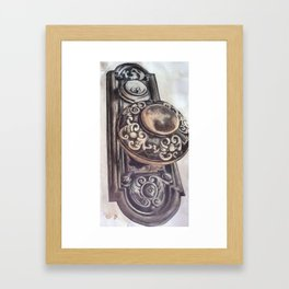 Simply Impassible Framed Art Print