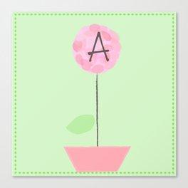 Flower A Canvas Print