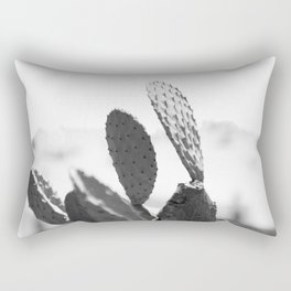 Wild Cactus <> monochrome Rectangular Pillow
