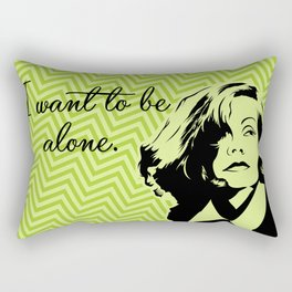 Let me alone! Rectangular Pillow