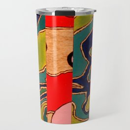 Puzzled Map Travel Mug