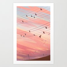 Sight Reading Art Print