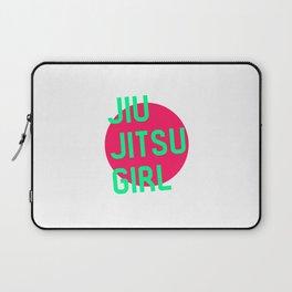 Jiu Jitsu Girl Brazilian Training BJJ Submissions MMA Laptop Sleeve