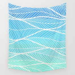 into the blue motions Wall Tapestry