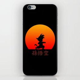 Young Saiyan Warrior iPhone Skin