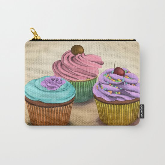 Cupcakes!  Carry-All Pouch