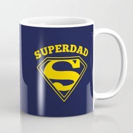 Superdad   Superhero Dad Gift Coffee Mug