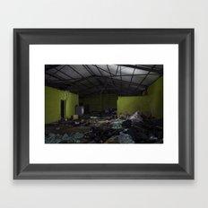 lights on Framed Art Print