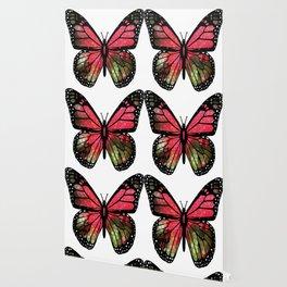 Butterfly Mosaic Wallpaper