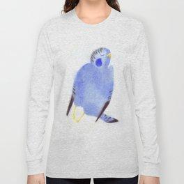 """Un oiseau entend..."" Book cover Long Sleeve T-shirt"