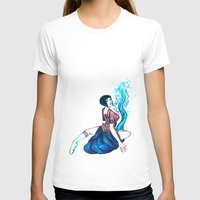 lace T-shirts featuring Lace by Carrie Eli