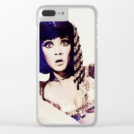 Amanda Barrie, Carry On Actress Clear iPhone Case