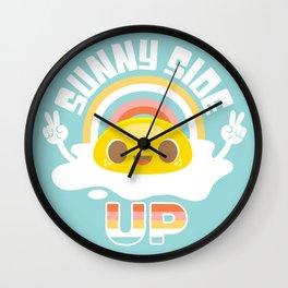 Sunny Side Up! Wall Clock