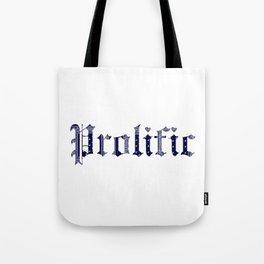 PROLIFIC Tote Bag