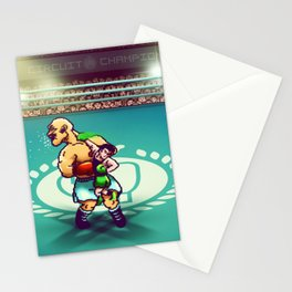 Punch-Out!! Stationery Cards