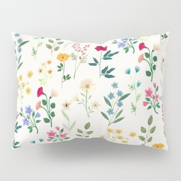 Spring Botanicals Pillow Sham