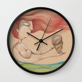 Partenope Wall Clock