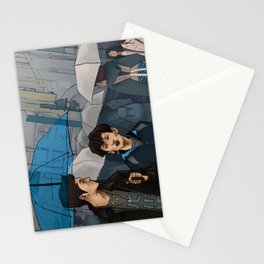 shibuya scramble Stationery Cards