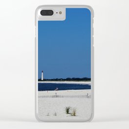 Summer, in spite of itself Clear iPhone Case