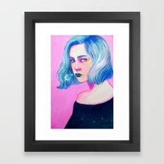Gouache Study Framed Art Print