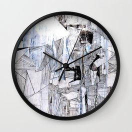 Distant Folding Wall Clock