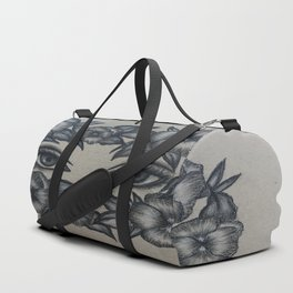 You Can Learn A Lot of Things From the Flowers Duffle Bag