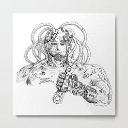Robotical Working Metal Print