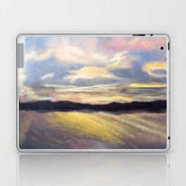 Summer Sunset Over Lake Winnipesaukee in New Hampshire Laptop & iPad Skin