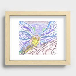 The Watcher Recessed Framed Print