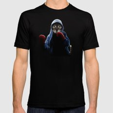 Boxing Cool Cat Black MEDIUM Mens Fitted Tee