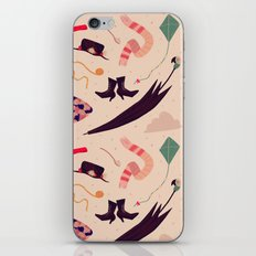 Practically Perfect Pattern iPhone Skin