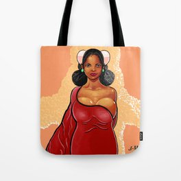 African Princess Tote Bag