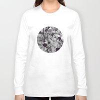 noir Long Sleeve T-shirts featuring Noir by deniz ayaz