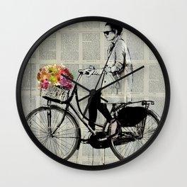 FLOWER DAYS Wall Clock