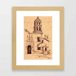 Hidden Mexico 1 Framed Art Print