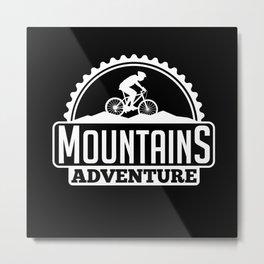 Mountain Bike Bicycle Metal Print