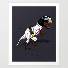 T-Rex (The X Roarcer) Art Print