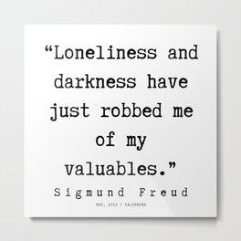 35 |   Sigmund Freud Quotes | 190926 Metal Print