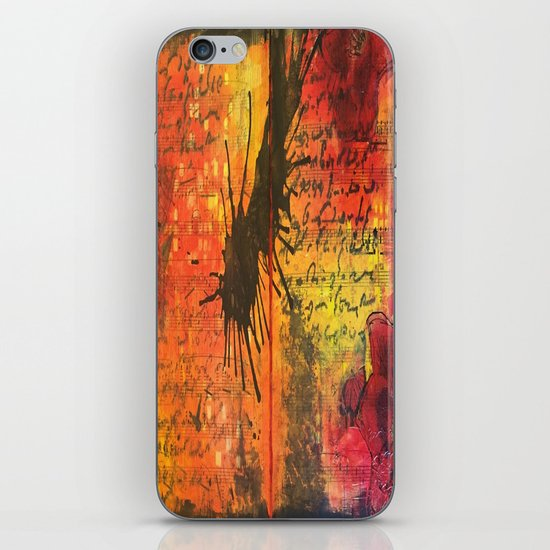 Symphony In Red iPhone & iPod Skin
