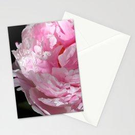 Peonia rosada 1 Stationery Cards