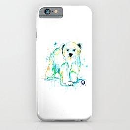 Polar Bear Baby iPhone Case
