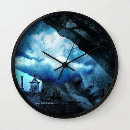She Sleeps By Annie Zeno Wall Clock