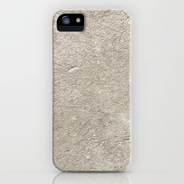 Concrete Wall Background Texture iPhone Case