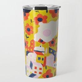 Flower Woman Travel Mug