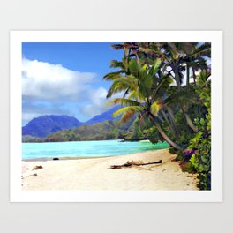 View from Waicocos Art Print