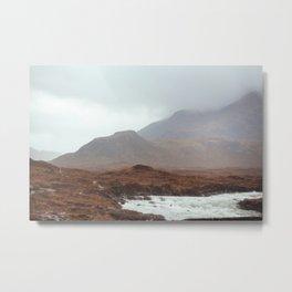 Scottish landscape, I Metal Print