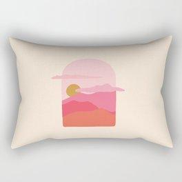 little window Rectangular Pillow