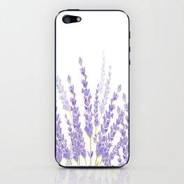 Lavender in the Field iPhone Skin