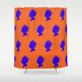 The Queens Eleven Shower Curtain